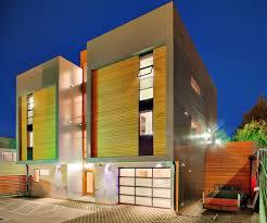 duplex house exterior contemporary with brick siding contemporary