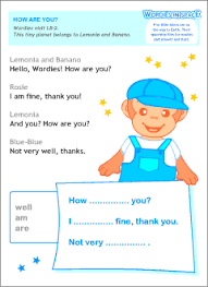 greetings and responses in english printable resources