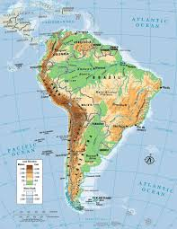 Map Of South And Central America by Russia Map Quiz Physical Features Usa Rivers And Mountains In