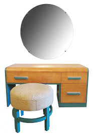 Vanity And Mirror Donald Deskey Art Deco Vanity And Mirror For Widdicomb Modernism