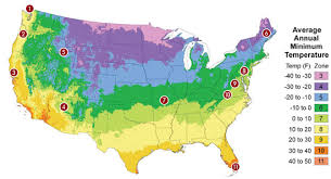 Gardening Zones - year round gardening tips for your region organic gardening