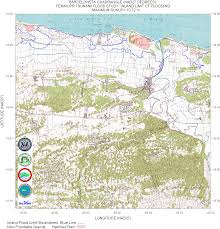 Where Is Puerto Rico On The Map Puerto Rico Tsunami Flood Maps Nad27