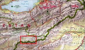 Kyrgyzstan Map Kyrgyzstan Summer 2008 Visokiy Alay And Western Kokshaltoo