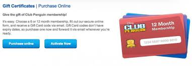 club penguin gift card club penguin membership page gets new look club penguin cheats
