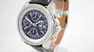 breitling bentley motors breitling for bentley gt special edition a13362 youtube
