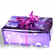 purple gift wrap purple presents would you like gift wrapped green silver