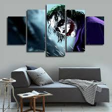 tableau chambre 5 panneau modulaire photos tableau décoration murale hd impression