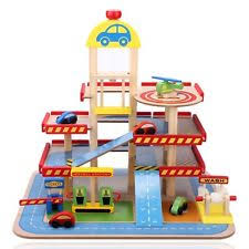 toy car parking garage by elc sounds helipad carwash lift petrol
