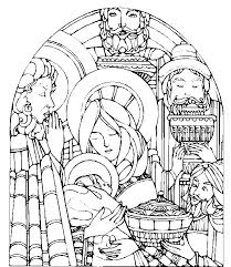 134 catholic coloring pages images coloring
