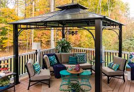 Gazebo On Patio 13 Patio And Deck Ideas For Dining And Entertaining