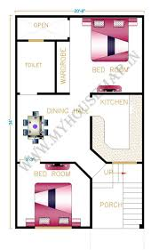 Design House 20x50 by 100 Home Design For 20x50 Plot Size Home Design Plans 30 50