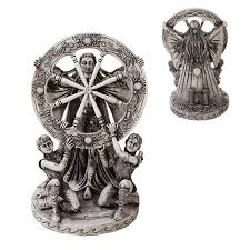 Home Decoration Statues Arianrhod Wheel Of The Year Bone Finish Resin 10 5 Inch Statue