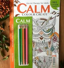 calm colour art therapy calm colour create issue 4 free pencils kenwins