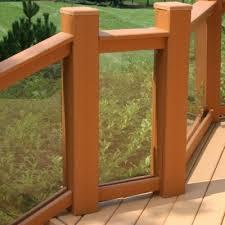 lumberock composite decking railings gallery
