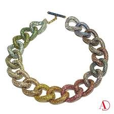 crystal link necklace images 119 best heidi daus jewelry images sparkle jpg