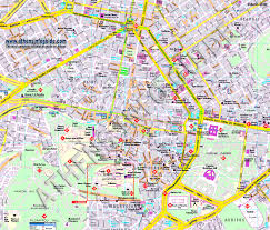 Greek Map Map Of Athens Greece In English Greece Map