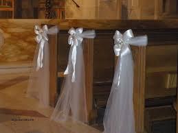 wedding pew bows wedding decorations luxury church wedding decorations ideas pews