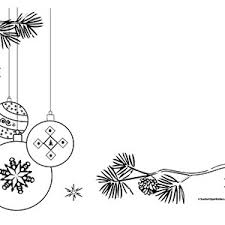 tree ornaments landscape blank clipart borders