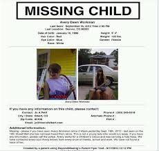 doc 419461 missing child poster template u2013 when your child is