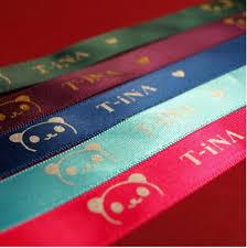 customized ribbon aliexpress buy 005 satin printed customized ribbon logo