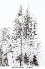victorian street scene drawing stock photos u0026 victorian street