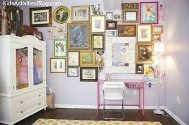 Paris Bedroom For Girls Room Makeover Shared Room Paris Themed Room