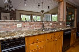 Kitchen Pine Cabinets Carnival Granite And Pine Cabinets Eclectic Kitchen Dc Metro