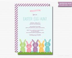 easter brunch invitations easter invitation rabbits bunnies easter egg hunt easter bunny