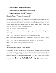 how to reset a verizon email password 1 877 587 1877 verizon technical support phone number usa