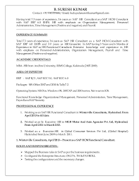 Sap Sd Experience Resumes Top Home Work Editor Site Us Template For Research Paper In Mla