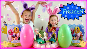 Easter Egg Decorating Frozen by Coloring Easter Eggs With Frozen Elsa And Anna Youtube