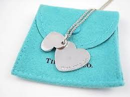 tiffany necklace with heart images Tiffanys necklace heart ebay JPG