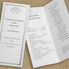 Tri Fold Wedding Program Constructing A Wedding Program Wouldn U0027t Want To Leave Anything
