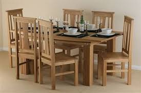 Light Oak Dining Table And Chairs Modern Ideas Oak Dining Table And Chairs Shining Light Oak