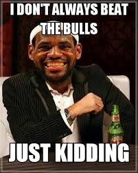 Chicago Bulls Memes - lebron james dos equis meme sports unbiased