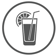 mixed drink clipart black and white nevo