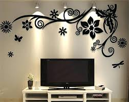 home decor india online coavas art mirror wall sticker decals india online effect stickers