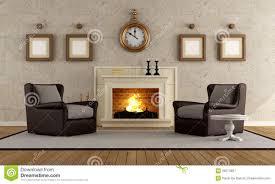 vintage livingroom vintage living room royalty free stock photography image 26574857