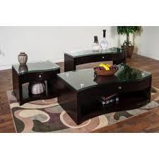 espresso coffee table sets you u0027ll love wayfair