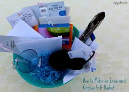 Kitchen Gift Ideas How To Make An Economical Kitchen Gift Basket Simply Southern Mom