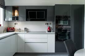 metallic grey handle less kitchen kitchens northern ireland