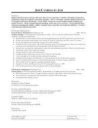 Sample Project Management Resume Sample Real Estate Resume Sample Cover Letter Fax General Manager