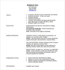 pdf resume templates resume templates pdf tomyumtumweb