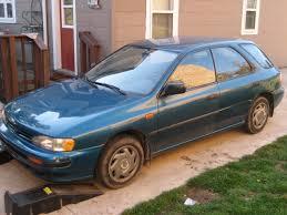 green subaru hatchback rallyready 1993 subaru imprezals wagon 4d specs photos