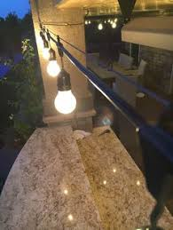 Solar Lights Patio by Outdoor Style How To Hang Commercial Grade String Lights Patio