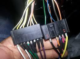 fiesta mk4 pinout stereo wire loom ford fiesta mk4 mk5 forum