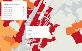 Average 1 Bedroom Rent Us Map Battery Park City Is The Country U0027s Most Expensive Zip Code