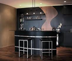 bar parallel shaped modular kitchen designs awesome prefab wet