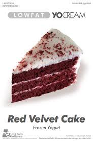 red velvet cake frozen yogurt chilly billy u0027s frozen yogurt