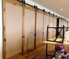 Hanging Room Divider Sliding Hanging Room Dividers Foter Sliding Panel Room Divider